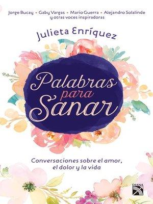 cover image of Palabras para sanar