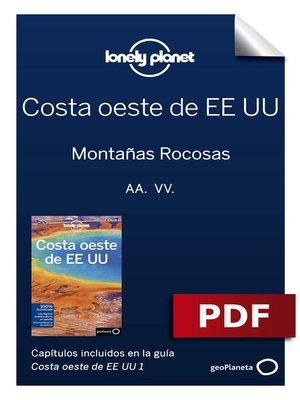 cover image of Costa oeste de EE UU 1_2. Montañas Rocosas