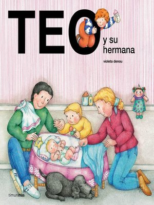 cover image of Teo y su hermana