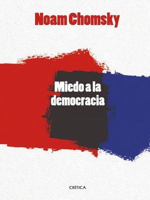 cover image of El miedo a la democracia
