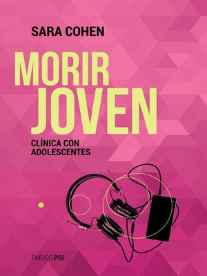 cover image of Morir joven