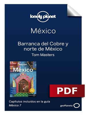 cover image of México 7_12. Barranca del Cobre y norte de México