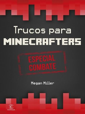 cover image of Minecraft.Trucos para minecrafters. Especial combate