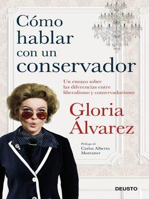 cover image of Cómo hablar con un conservador