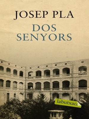 cover image of Dos senyors
