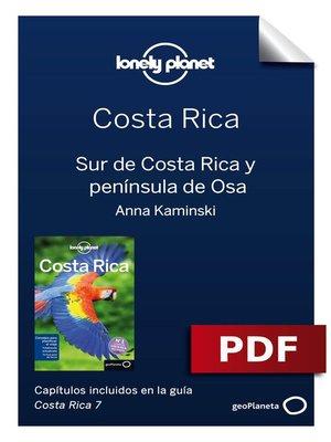 cover image of Costa Rica 7. Sur y la peninsula de Osa