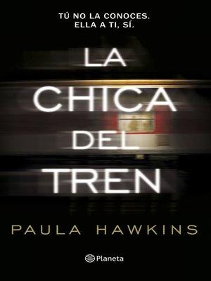 cover image of La chica del tren
