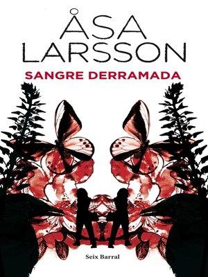 cover image of Sangre derramada