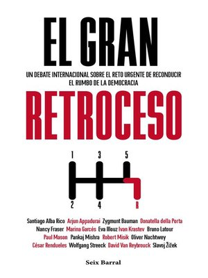cover image of El gran retroceso