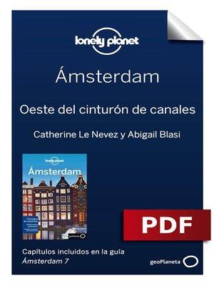 cover image of Ámsterdam 7_4. Oeste del cinturón de canales
