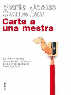cover image of Carta a una mestra