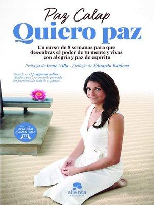 cover image of Quiero paz