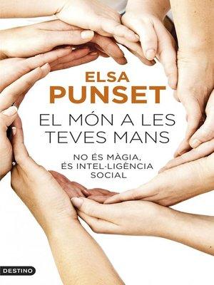 cover image of El món a les teves mans