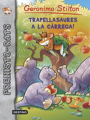 cover image of Trapellasaures a la càrrega!