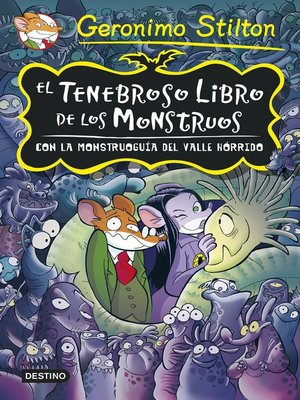 cover image of El tenebroso libro de los monstruos