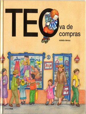 cover image of Teo va de compras