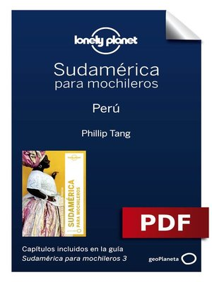 cover image of Sudamérica para mochileros 3. Perú