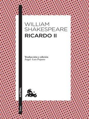cover image of Ricardo II