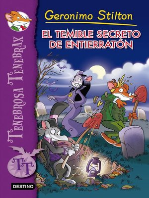 cover image of El temible secreto de Entierratón