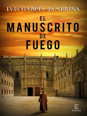 cover image of El manuscrito de fuego
