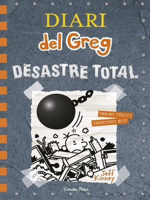cover image of Diari del Greg 14. Desastre total