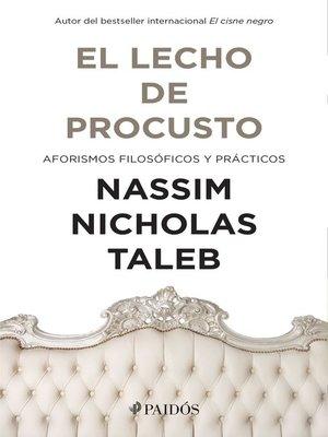 cover image of El lecho de Procusto (Edición mexicana)