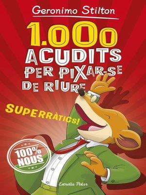 cover image of 1.000 acudits per pixar-se de riure