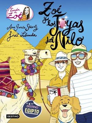 cover image of Zoé y las joyas del Nilo