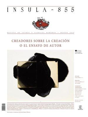 cover image of Creadores sobre la creación o el ensayo de autor