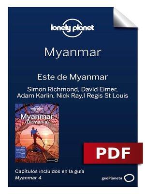 cover image of Myanmar 4. Este de Myanmar