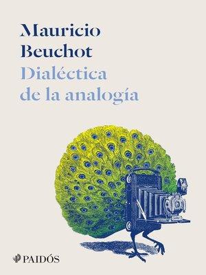 cover image of Dialéctica de la analogía