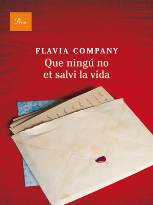 cover image of Que ningú no et salvi la vida
