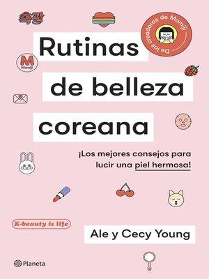 cover image of Rutinas de belleza coreana