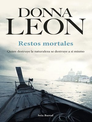 cover image of Restos mortales