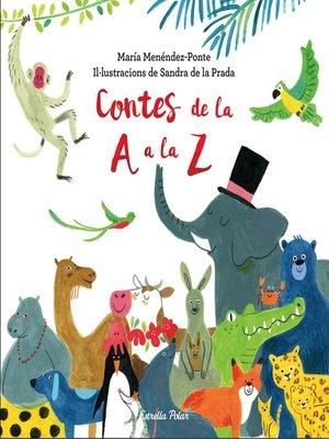 cover image of Contes de la a a la Z