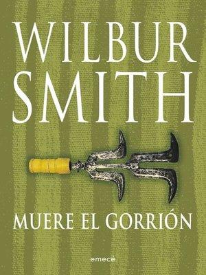 cover image of Muere el gorrión