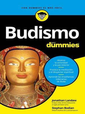 cover image of Budismo para Dummies
