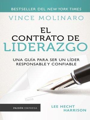 cover image of El contrato de liderazgo