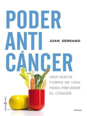 cover image of Poder anticáncer