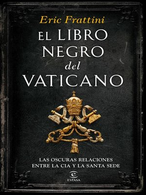 cover image of El libro negro del  Vaticano
