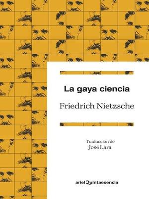 cover image of La gaya ciencia