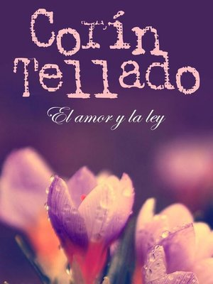 cover image of El amor y la ley