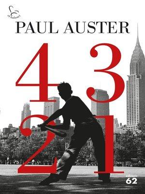 cover image of 4 3 2 1 (Edició en català)