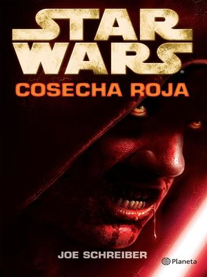cover image of Star Wars. Cosecha roja