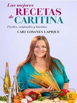 cover image of Las mejores RECETAS de CARITINA