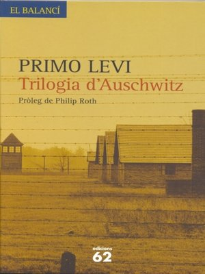 cover image of Trilogia d'Auschwitz