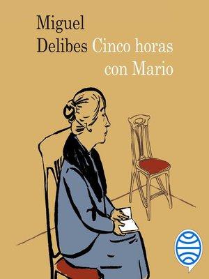 cover image of Cinco horas con Mario