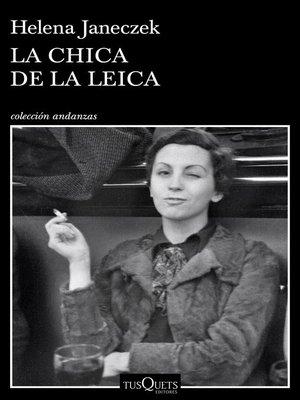 cover image of La chica de la Leica