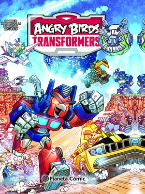 cover image of Angry Birds Transformers nº 01/02