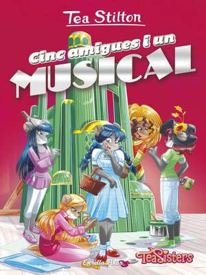 cover image of Cinc amigues i un musical